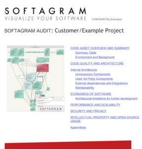 Softagram audit: an example project