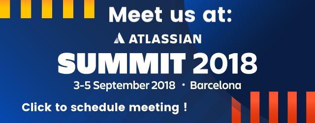 Meet us at Atlassian Summit on 3-5 September 2018