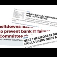 Nest/Bank/Google SW failures causing harm