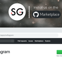 Softagram in GitHub Marketplace